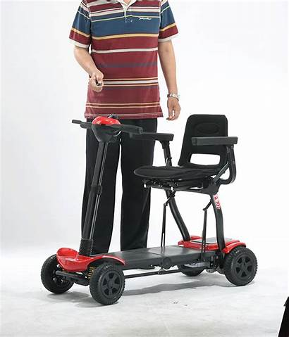 Mobility Folding Automatic Scooters Electric Topmedi Handicapped