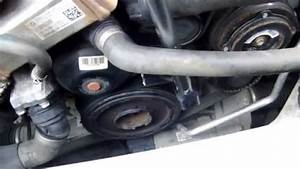 Bmw 120d E87 How To Replace Aux Drive Belt  U0026 Tensioner