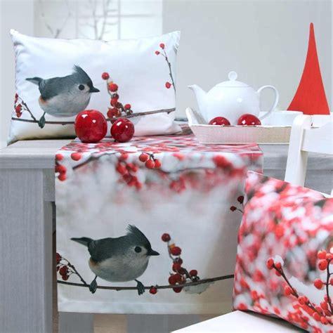 weihnachten 2015 tischl 228 ufer und kissen sander table home die perfekte tischdecko