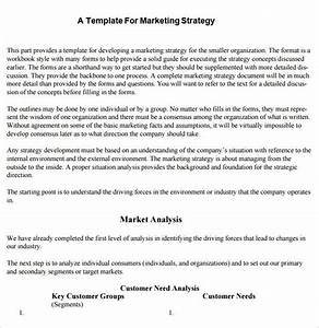 Sample Strategic Plan  Hr Strategic Plan Template