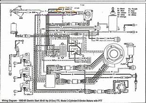1990 60 Hp Evinrude Wiring Diagram Schematic