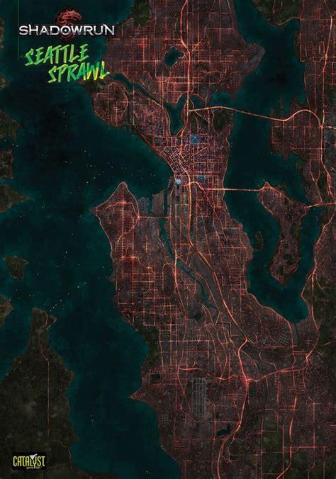Shadowrun Seattle Map Mungfali
