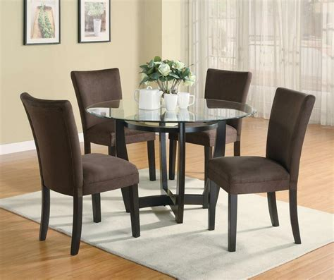stylish  pc dinette dining table parsons dining room