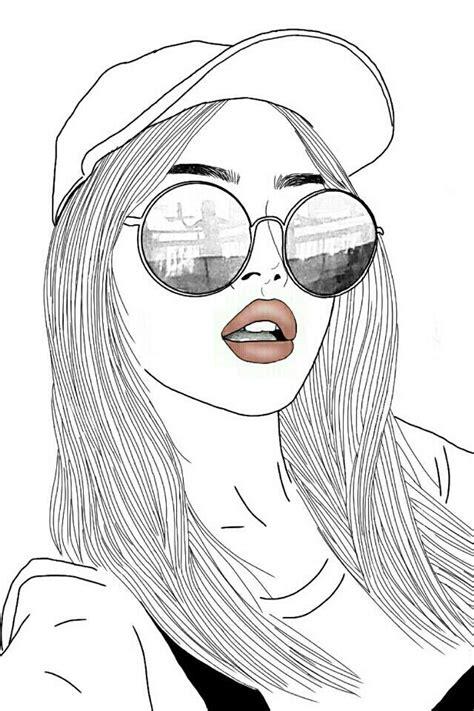pin  girl drawings