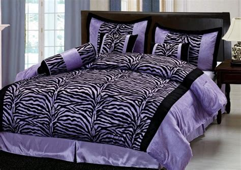 purple zebra print bedroom decor zebra bedding sheet for bedroom interior designing ideas