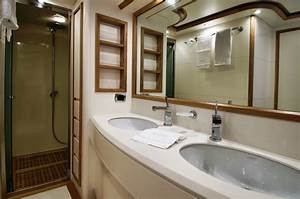 Riviera bathroom luxury yacht browser by for Riviera bathrooms