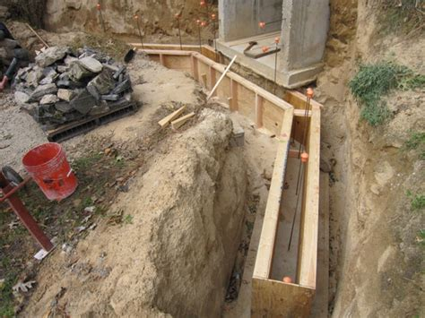 how to form a concrete retaining wall brainright root cellar retaining wall