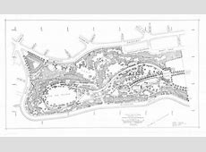 Fort Tryon Park Planting Plan Frederick Law Olmsted