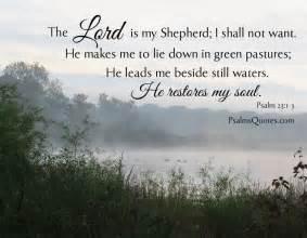 Bible Verse Lord Is My Shepherd