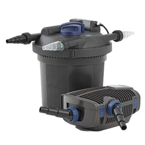 pompe bassin exterieur poisson oase filtoclear set 6000 filtre pour bassin de jardin