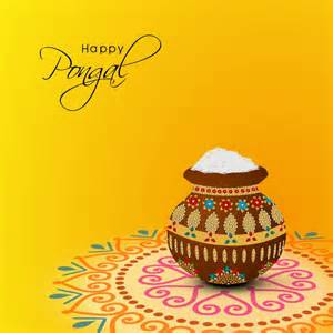 Image Happy Pongal Greeting Card Pongal Download High