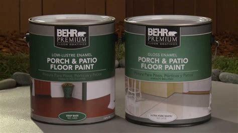 apply behr premium porch patio floor paint youtube