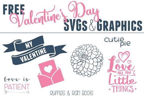 Learn how to craft them with our template and tutorial. Free Valentine's Day SVG Files, Fonts, and Graphics for Crafts