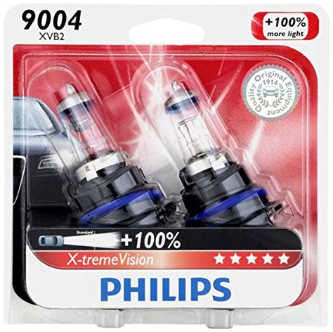 philips 9004 x tremevision upgrade headlight bulb 2 pack