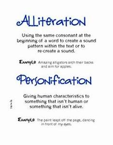 Personification Activities for Middle School (Grades 5, 6 ...