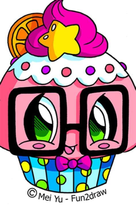 fundraw cute cupcake  fundraw kawaii doodles