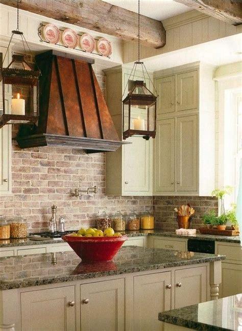 Brick Backsplashes: Rustic and Full of Charm   Copper