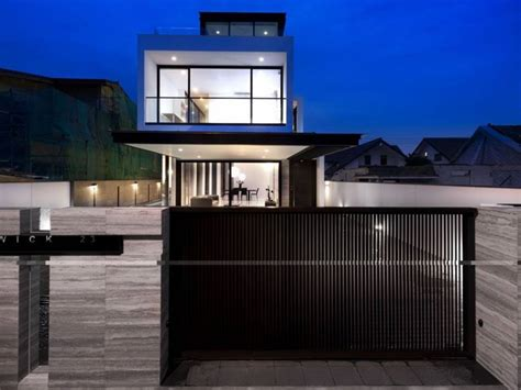 minimalist fence design  urban home decor  ideas