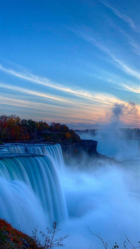 wallpaper niagara falls waterfall  york usa