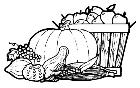 Pumpkins Coloring Pages To Celebrate Thanksgiving