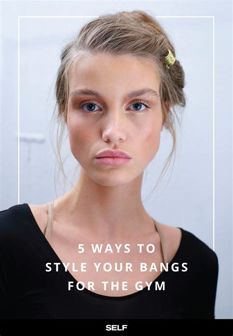 5 creative ways to keep your bangs out of your face at the
