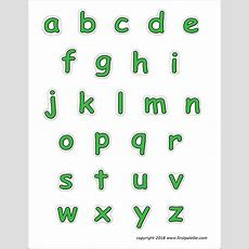 Alphabet Lower Case Letters  Free Printable Templates & Coloring Pages Firstpalettecom