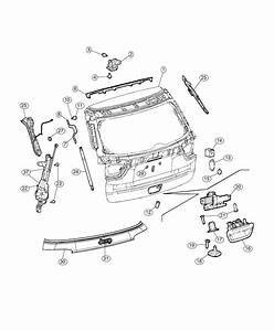 2018 Jeep Compass Latch  Liftgate   Power Liftgate