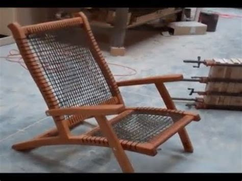 paracord chair youtube