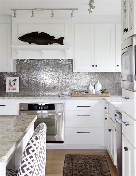 silver kitchen tiles beautiful kitchen backsplashes take two shine your light 2225