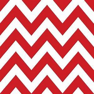 The Wallpaper Company 56 sq. ft. Chevron Red/White ...