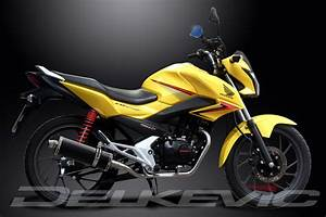 Honda Cb 125 F : honda cb125f complete exhaust system 14 carbon fiber oval ~ Farleysfitness.com Idées de Décoration