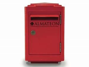 Boite Aux Lettres La Poste : boites aux lettres officielle de la poste rouge almateon ~ Melissatoandfro.com Idées de Décoration