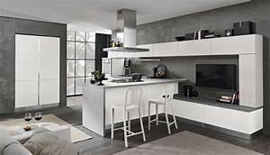 Cucina moderna bicolore minimal cucina tokyo spar for Siti di cucine moderne