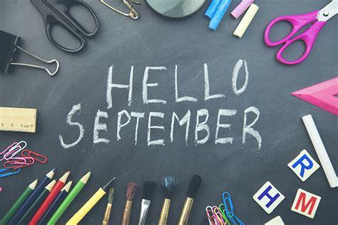 Say Hello to September: Blog - The Wellness Sandbox