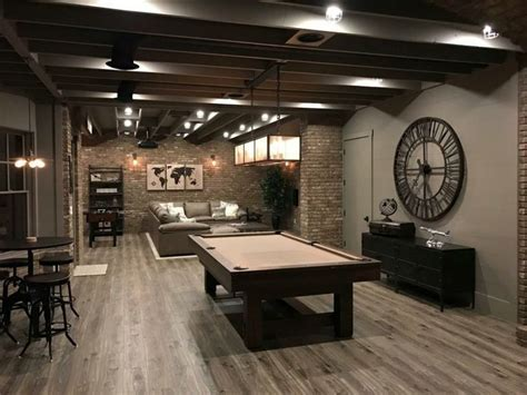 This finished walk out basement is a great place for