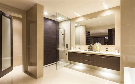 master bedroom with ensuite live modern with the chicago home with metricon 16155