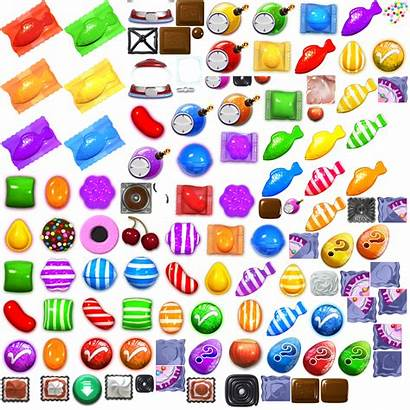 Crush Candy Saga Candies Sheet Spriters Resource
