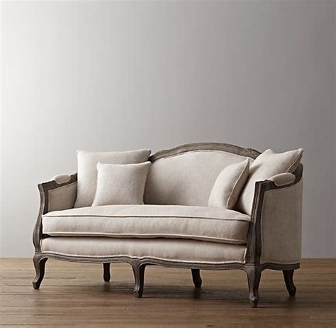 Restoration Hardware Settee by Settee Seat 64 Quot Ondine Salon Bench Nursery