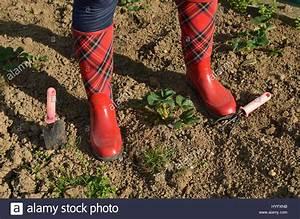 Rubber Garden Boots Home Outdoor Decoration