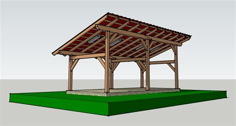 Free/cheap Timber-frame Designs For Wood Drying Shed?