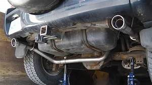 Installing Borla Dual Exhaust For Jeep Liberty 2002