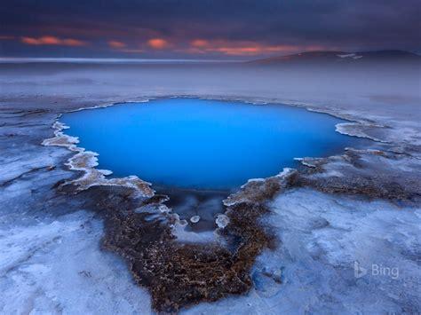 iceland hveravellir hot spring plateau  bing desktop