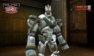 Camelot Real Steel Robots