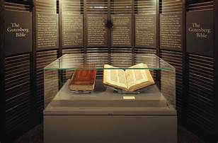 Image result for gutenberg bible