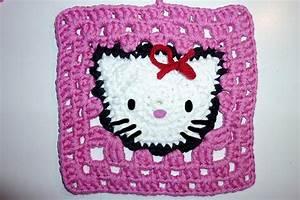 Granny Squares Häkeln : hello kitty granny square blij dat ik brei ~ Orissabook.com Haus und Dekorationen