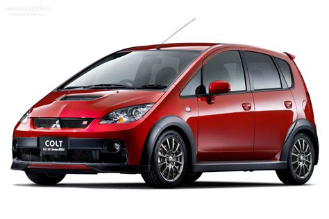 mitsubishi colt ralliart mitsubishi colt ralliart version r goes special