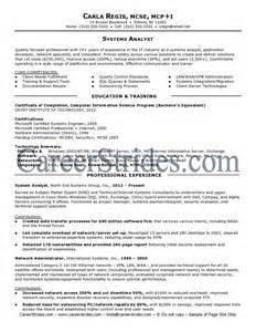 information systems business analyst resume system analyst resume system analyst resume sle