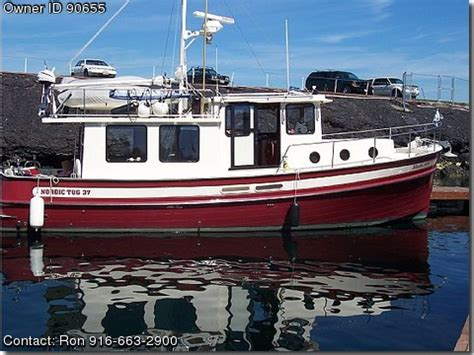 Used Nordic Boats For Sale By Owner by 2000 Pilothouse Trawler Nordic Tug Used Boats For Sale By