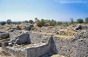 Troy legendary city of the King Priamusm and site of the ...