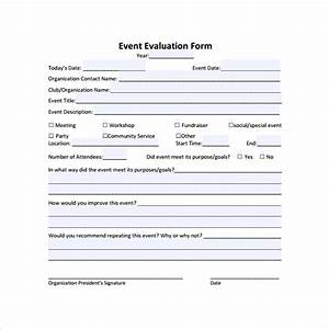 event evaluation form 9 download free documents in pdf With event survey template word